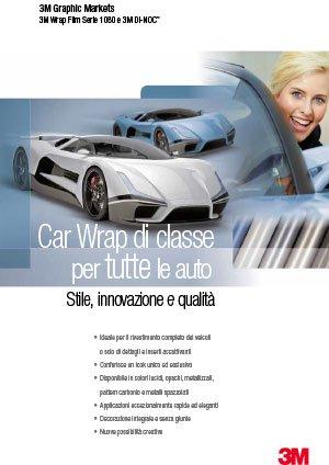 Car Wrap di classe per tutte le auto